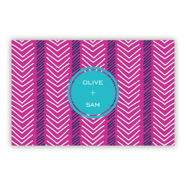 Topstitch Personalized Double-Sided Laminated Placemat