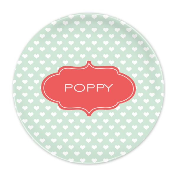 Minnie Personalized Dinner Plate