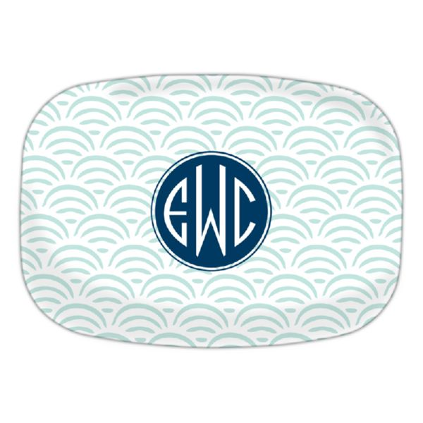 Ella Personalized Oval Platter