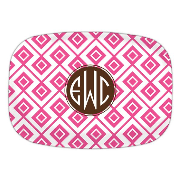 Lucy Personalized Oval Platter