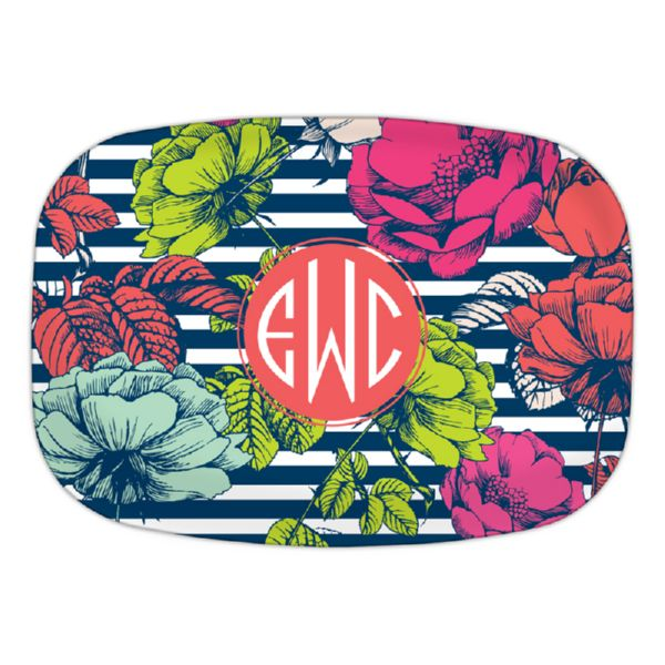 Millie Personalized Oval Platter