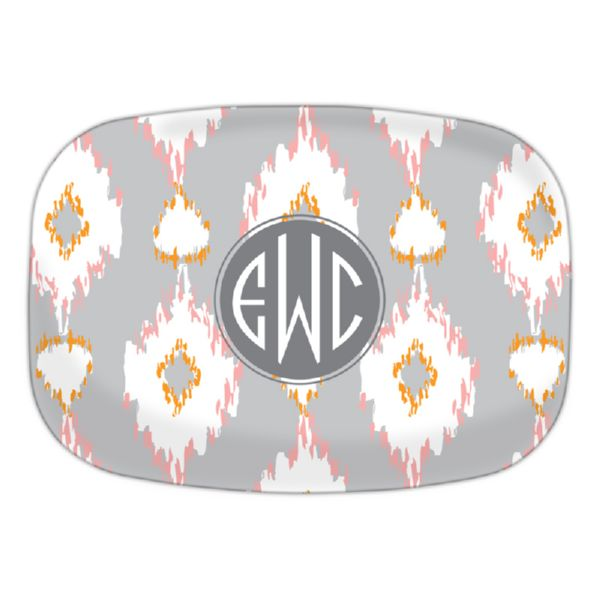 Mirage Personalized Oval Platter