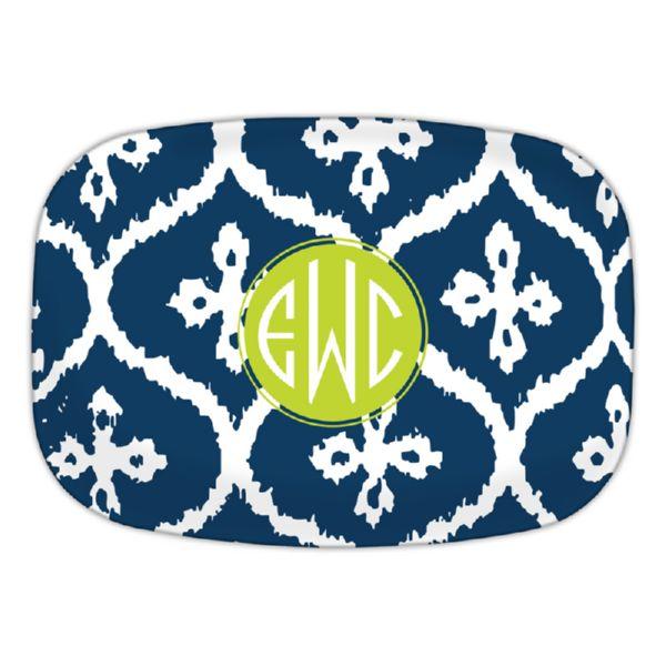 Montauk Personalized Oval Platter