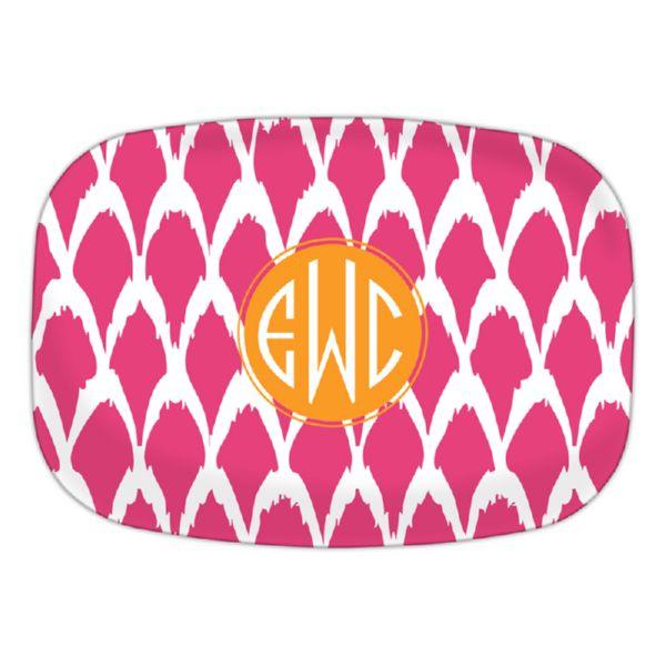 Northfork Personalized Oval Platter