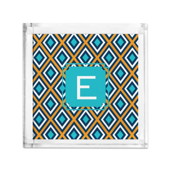 Lantern Personalized Petite Serving Tray (Lucite)