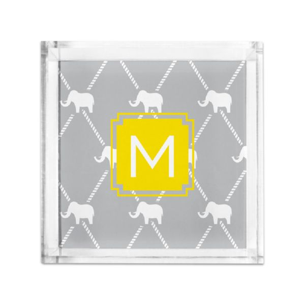 Dumbo Personalized Petite Serving Tray (Lucite)