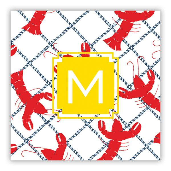 Rock Lobster Personalized Petite Serving Tray Insert Refill