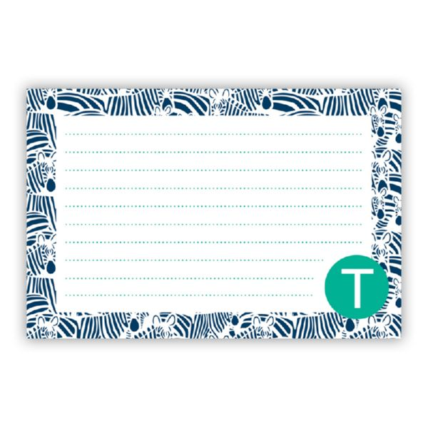 Bruno Personalized Double-Sided Recipe Cards (Set of 24)
