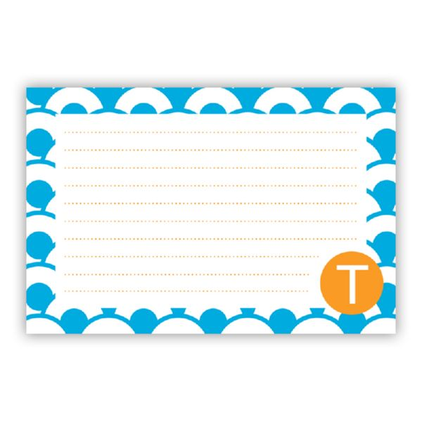 Coins Personalized Double-Sided Recipe Cards (Set of 24)