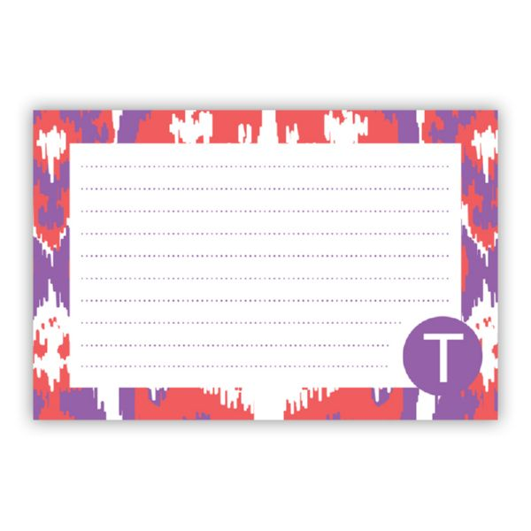 Elsie Personalized Double-Sided Recipe Cards (Set of 24)
