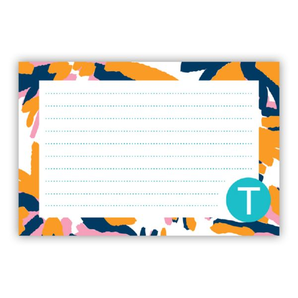 Fireworks Personalized Double-Sided Recipe Cards (Set of 24)