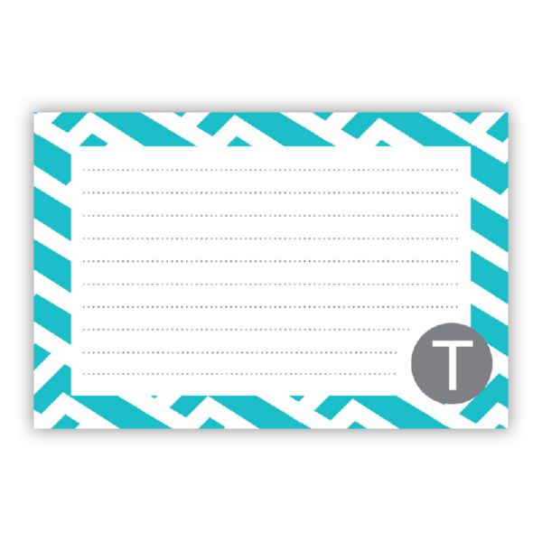 Grasshopper Personalized Double-Sided Recipe Cards (Set of 24)