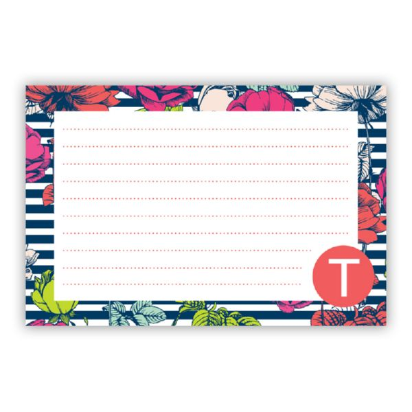 Millie Personalized Double-Sided Recipe Cards (Set of 24)