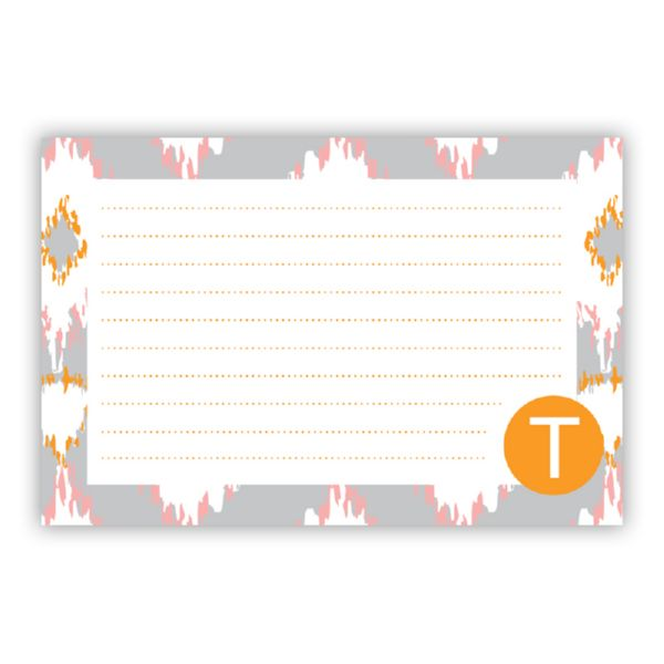Mirage Personalized Double-Sided Recipe Cards (Set of 24)