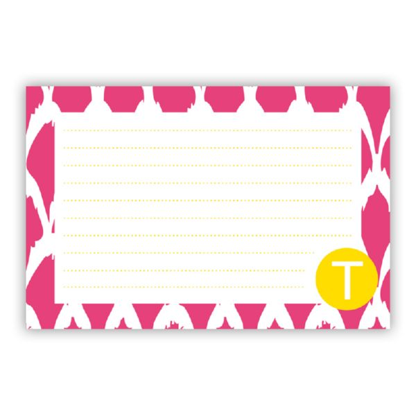Northfork Personalized Double-Sided Recipe Cards (Set of 24)