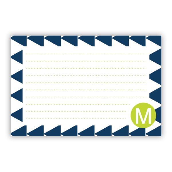 Try Me Personalized Double-Sided Recipe Cards (Set of 24)