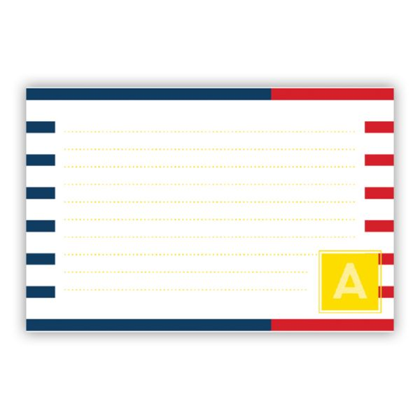 Twice As Nice 2 Personalized Double-Sided Recipe Cards (Set of 24)