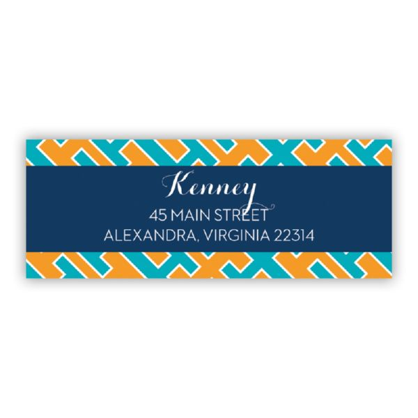 Acapulco Personalized Address Labels (48 labels)