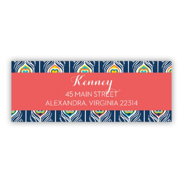 Argus Personalized Address Labels (48 labels)