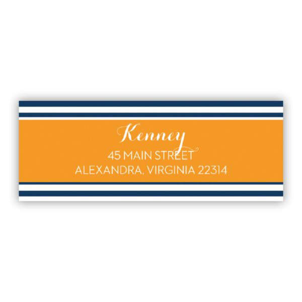 Block Island Personalized Address Labels (48 labels)