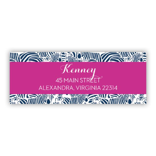 Bruno Personalized Address Labels (48 labels)