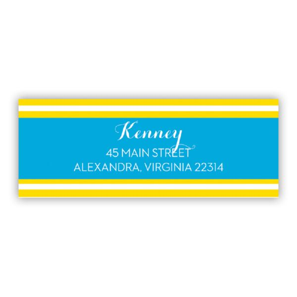 Cabana Personalized Address Labels (48 labels)