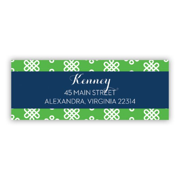 Clementine Personalized Address Labels (48 labels)