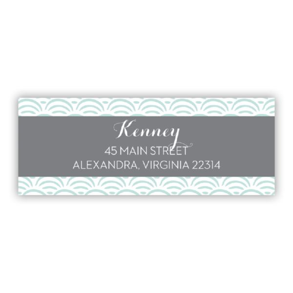 Ella Personalized Address Labels (48 labels)