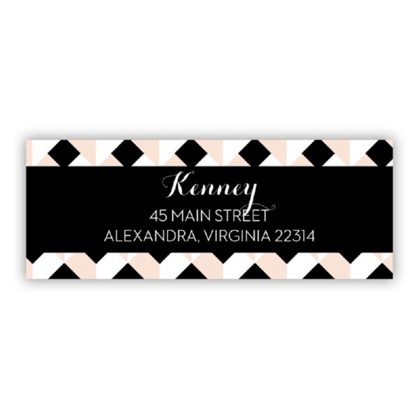 Golden Girl Personalized Address Labels (48 labels)