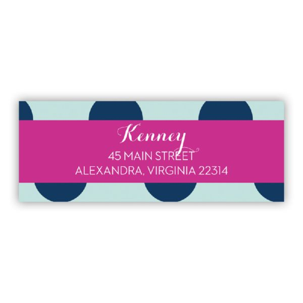 Jane Personalized Address Labels (48 labels)