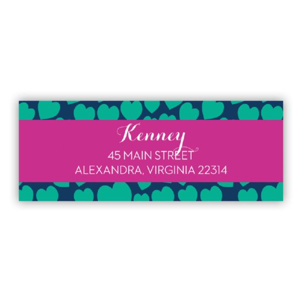 Love Struck Personalized Address Labels (48 labels)