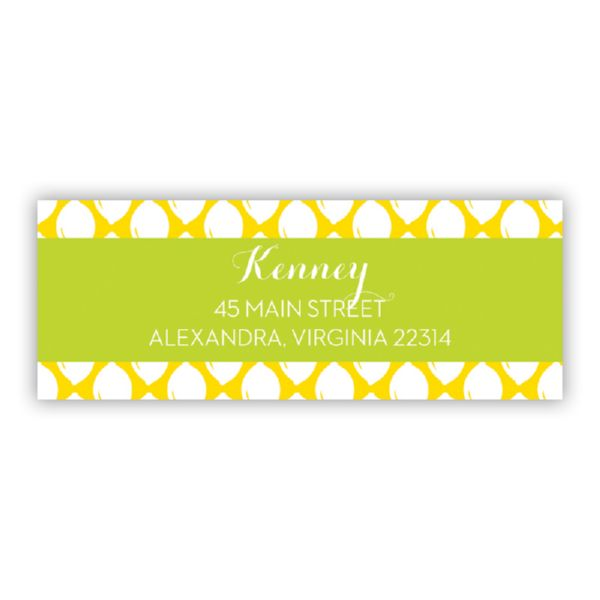Meyer Personalized Address Labels (48 labels)