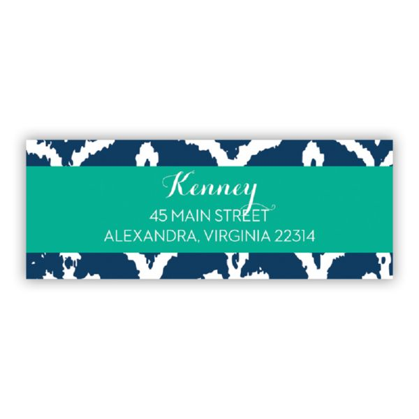 Montauk Personalized Address Labels (48 labels)