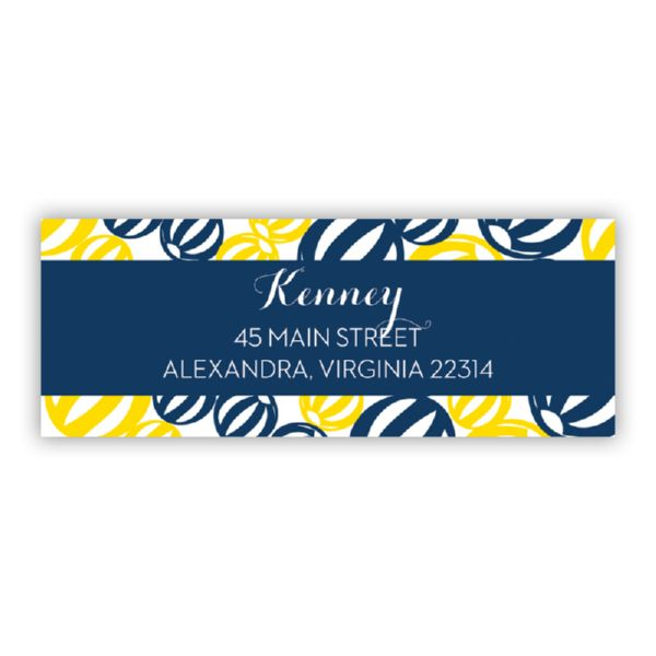 Palm Springs Personalized Address Labels (48 labels)