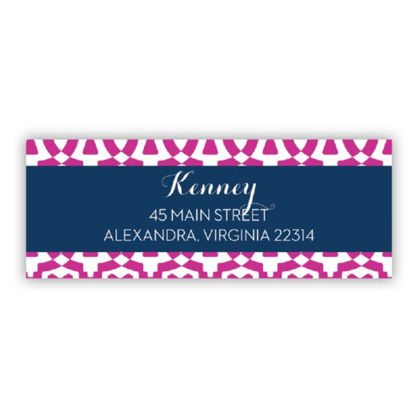 Poppy Personalized Address Labels (48 labels)