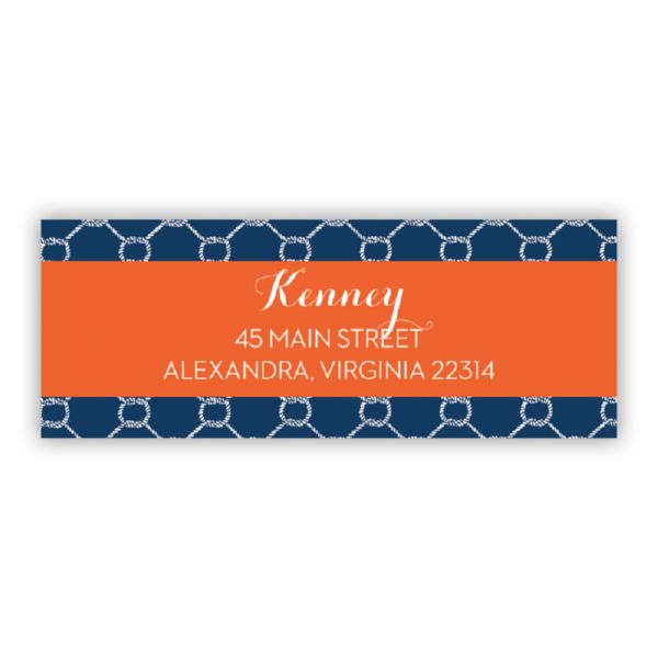 Rope Personalized Address Labels (48 labels)