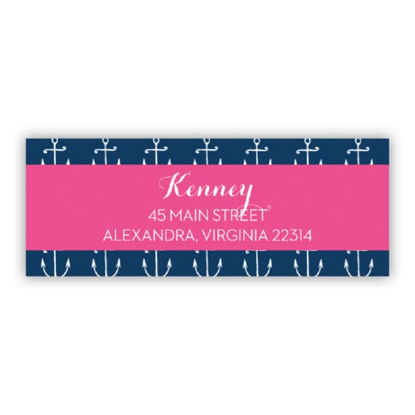 Salty Personalized Address Labels (48 labels)