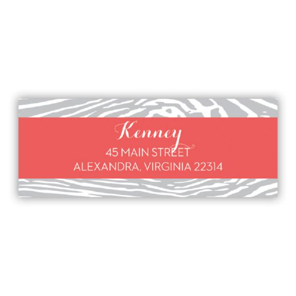 Varnish Personalized Address Labels (48 labels)