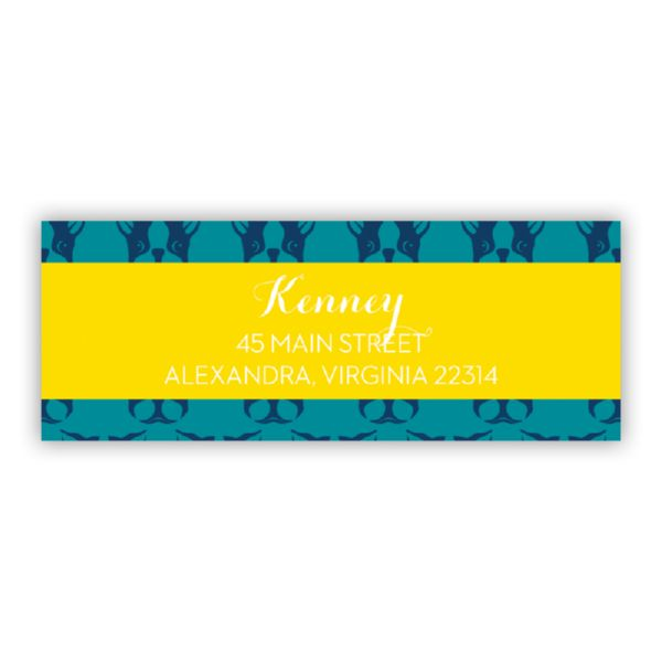 Polly Personalized Address Labels (48 labels)