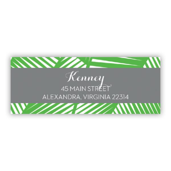 Palm Personalized Address Labels (48 labels)