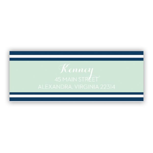 Cabana 3 Personalized Address Labels (48 labels)