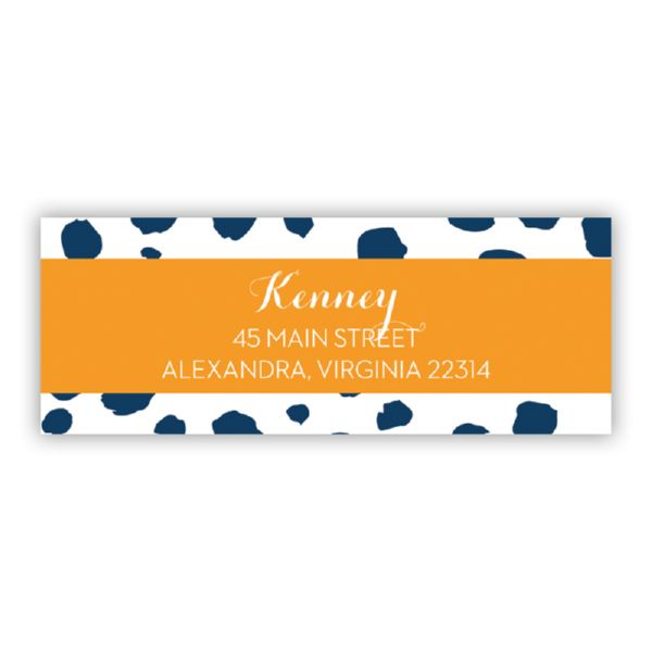Cheetah Personalized Address Labels (48 labels)
