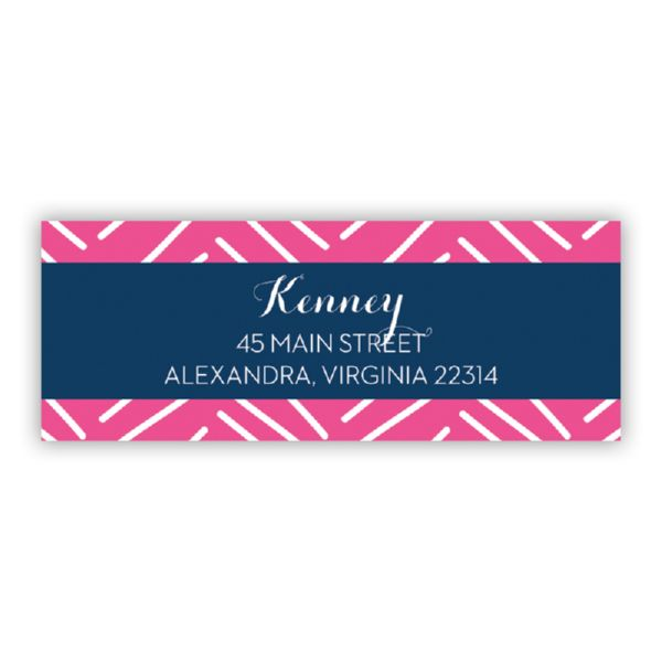 Little Lines Personalized Address Labels (48 labels)