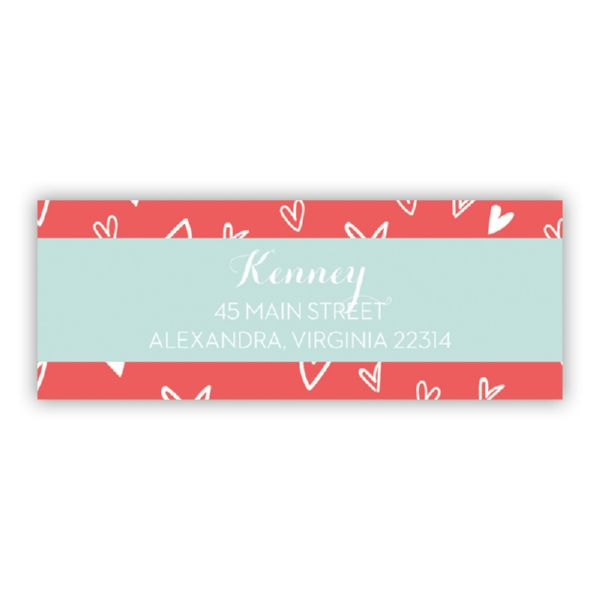 Love It Personalized Address Labels (48 labels)
