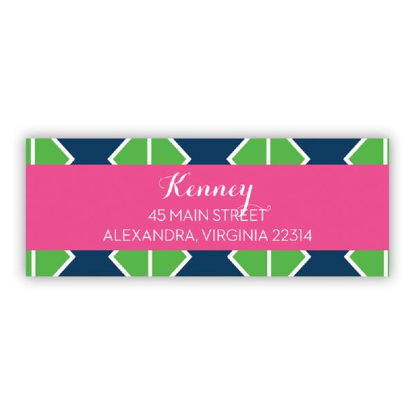 Table Tennis Personalized Address Labels (48 labels)