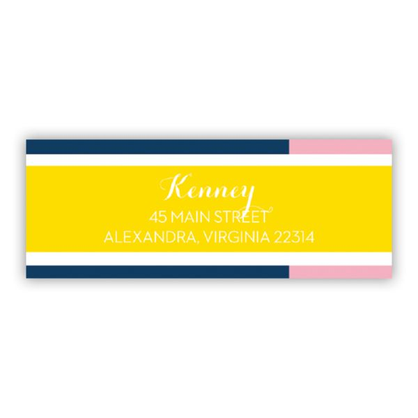 Twice As Nice 3 Personalized Address Labels (48 labels)