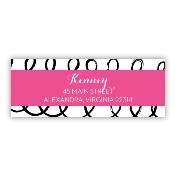 Weeeee Personalized Address Labels (48 labels)