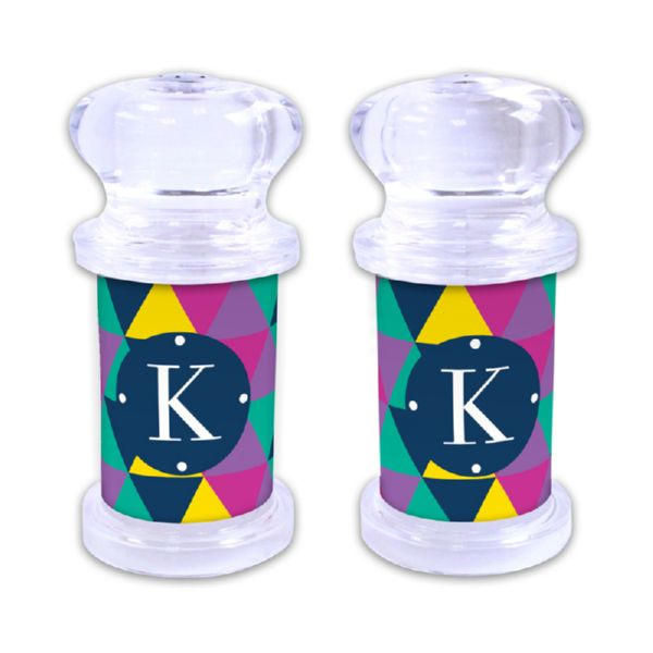 Acute Personalized Salt and Pepper Shaker
