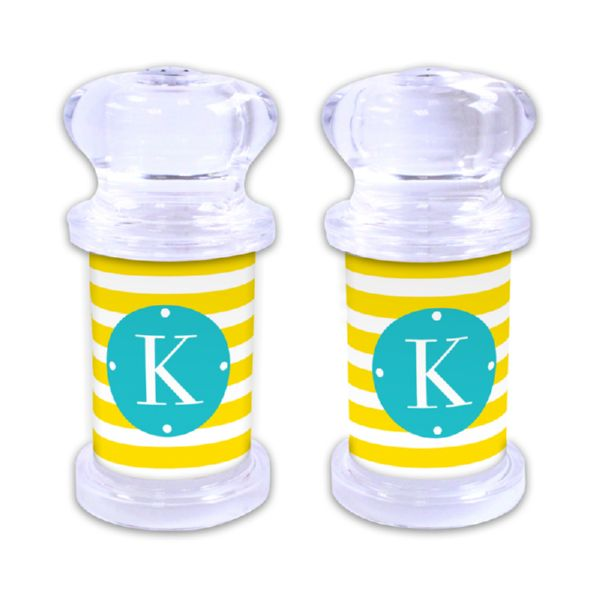 Cabana Personalized Salt and Pepper Shaker