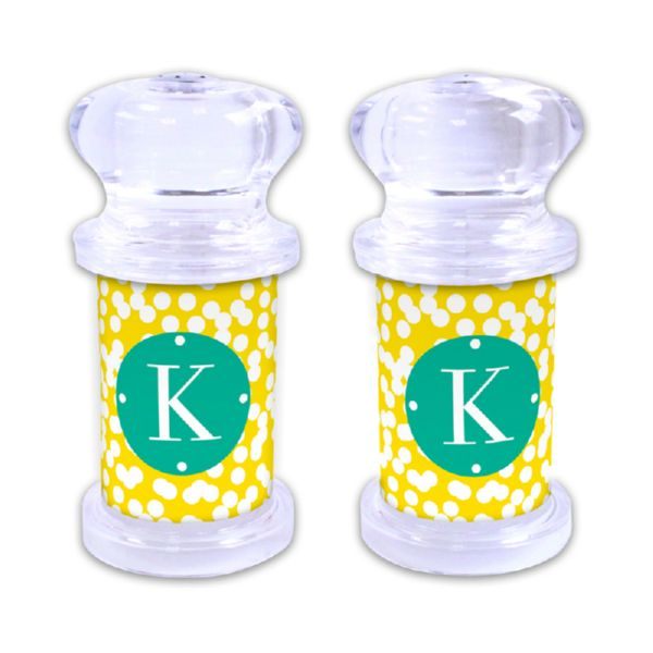 Hole Punch Personalized Salt and Pepper Shaker